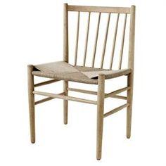 Jørgen Bækmark J80 - Eg Stol - Komfortabelt og raffineret ikon fra 50'erne FDB møbler