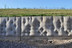 Small Hopes Wall by Wilf Meynell #fabricformwork