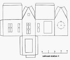 Little Glitter Houses Pattern You May Print The Structure Patterns