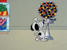 It's the Easter Beagle, Charlie Brown - Snoopy is an animated gif that was created for free on MakeAGif.