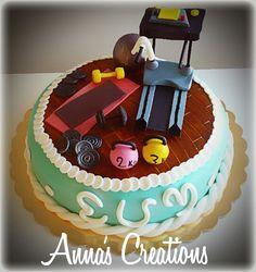 Gym cake!!!!