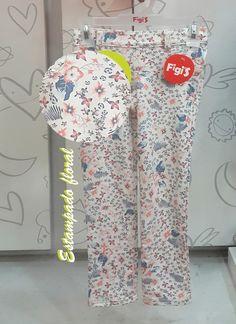 Estampado floral en pantalones para niñas solamente los encuentras en Figi's de Jockey Plaza | Figi's