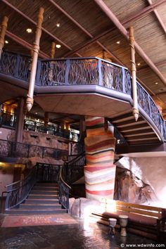 """Animal Kingdom Lodge - I completely recomend this lodge! Even the rooms are decorated to go with the African Safari theme! And you can get a room over looking the animals! So cool!!!! Plus they have a """"Pride Rock"""" type outcropping that you can just go and sit and watch the sun set or watch the walking trees, OH WAIT THOSE ARE GIRAFFES!"""