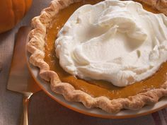 Pumpkin Apple Pie recipe from Nancy Fuller via Food Network