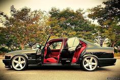 my asia brothers! love the red interior goodnight nightmare! Bmw 740, Merc Benz, Bmw 318i, Bmw Alpina, Bmw Classic Cars, Bmw 7 Series, Top Cars, Cars And Motorcycles, Porsche Boxster