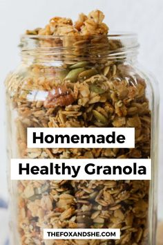 One of my favorite breakfasts or afternoon snacks is a small bowl of granola with fresh berries and almond milk. Easy Healthy Recipes, Healthy Snacks, Vegetarian Recipes, Easy Meals, Healthy Eating, Cooking Recipes, Healthy Sausage Recipes, Health Recipes, Cooking Tips