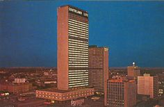 Ports O' Call was permanently docked on the 37th floor in what used to be the Southland Life tower of the Sheraton Hotel in Dallas. The hotel itself opened in 1958 and the Southland Life tower in 1960. At the time the tallest building in downtown Dallas.
