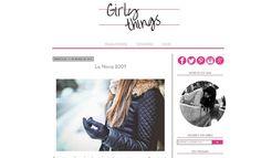 Plantilla minimalista para Chicas Fucsia por IngenioDIY en Etsy