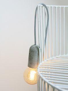 NUD concrete light pendant