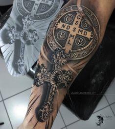 Aa Tattoos, Bild Tattoos, Sleeve Tattoos, Tattoos For Guys, Tatoos, Tattoo Images, Tattoo Photos, Catholic Tattoos, Celtic Cross Tattoos