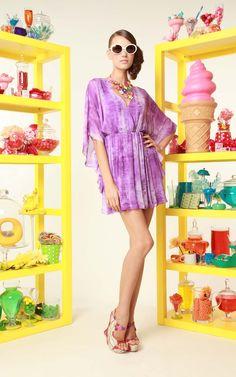 alice + olivia | spencer butterfly sleeve dress