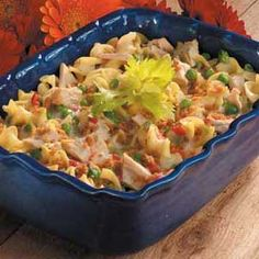 Tuna Noodle Casserole Taste of Home Light & Tasty -- can also do with chicken!