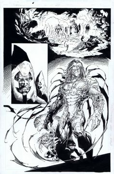 Darkness Vol 1 #2 Pg. 20 by Marc Silvestri and Matt  Batt  Banning - W.B.