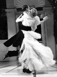 Ginger Rogers and Fred Astaire - Top Hat 1935