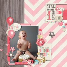 Sweet Shoppe Designs :: NEW Releases :: New Releases - 4/5 :: Cake Smash: GIRL by Studio Flergs