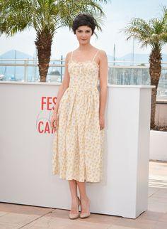 Audrey Tautou au festival de Cannes. #cannes2013 ....la maitresse de Cérémonie du Festival