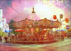 Carnival Carousel - Merry Go Round Art Photography, Dreamy Carousel horses surreal Circus Nursery ho Circus Art, Circus Theme, Circus Nursery, Animation Storyboard, Painted Pony, Merry Go Round, Carousel Horses, Glitch Art, Art Themes