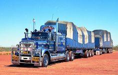 Big Rig Trucks, New Trucks, Custom Trucks, Cool Trucks, Train Truck, Road Train, Old Bangers, Semi Trailer Truck, Western Star Trucks
