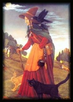 A British witch from the Early Modern period, artist unknown. from Witch Hunts in Scotland: Scottish Witch Isobel Gowdie and King James' Role in Witch Trials by Carolyn Emerick. Click the picture to read :-) www.carolynemerick.com