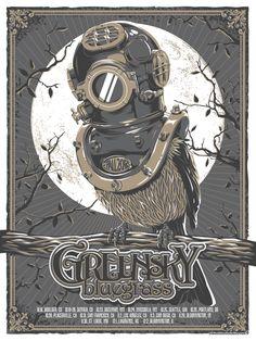 greensky bluegrass poster