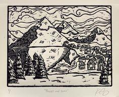 Peaks and Snow - Kathleen Neeley