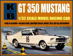 K&B Slot Car Mustang Poster – 1/32 Scale GT Mustang 1960's Vintage Slot Cars by MyGenerationShop on…