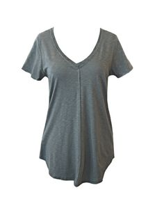 The Seamed Double V Short Sleeve Tee! A comfy tee that looks good?!? Sign me up, hahaha