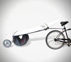 Wheele Surfboard Bike Rack Carrier 1