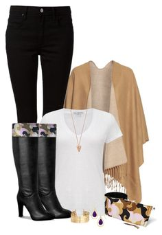 """Style Inspiration for Fall with Kuhfs. """"Black Jeans & Kuhfs"""" by mcsp ❤ liked on Polyvore. Kuhfs 