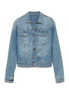 I've been on the hunt for the perfect jean jacket.  So glad my stylist at Stitch Fix picked this out for me!  So cute and I didn't even have to leave the house to shop for it!