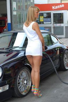 She forgot her underpants.