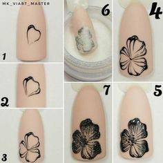 If you're looking to do seasonal nail art, spring is a great time to do so. The springtime is all about color, which means bright colors and pastels are becoming popular again for nail art. These types of colors allow you to create gorgeous nail art. New Nail Art, Nail Art Diy, Easy Nail Art, Cool Nail Art, Diy Nails, Easy Art, Nail Nail, Flower Nail Designs, Simple Nail Art Designs