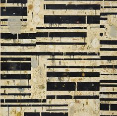 Nicholas Wilton, Sidewalk, Mixed media on panel, 60 x 60, 2013