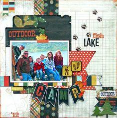 Layout: Fish Lake Camp