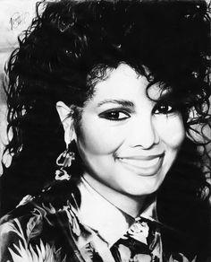 DeviantArt: More Like Janet Jackson by campcamart Janet Jackson Baby, Janet Jackson Control, Jo Jackson, Jackson Family, Michael Jackson, Gary Indiana, Great Works Of Art, Black Women Art, Black Art