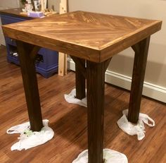Beautiful How to Build A High top Bar Table