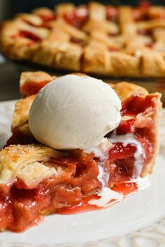 This rave-worthy pie showcases perfectly the classic combination of sweet strawberries with tart rhubarb. (Photo: Craig Lee for The New York Times)