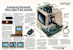 Introducing Macintosh (1984). #Apple #bitstory