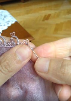 sewing embroidery tatting