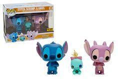Pop! Disney - 3 Pack - Stitch, Scrump & Angel