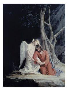 Esto me recuerda cuanto Cristo sufrió antes de lo que sobrevendria sobre el, y obedeció hasta la muerte por amor de nosotros.