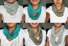 Da t-shirt a sciarpa