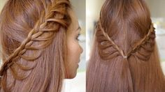 Elegant hairstyles never go out of fashion. Here are the top 25 elegant hairstyles that you can try. Braided Hairstyles Tutorials, Diy Hairstyles, Pretty Hairstyles, Braid Tutorials, Easy Hairstyle, Video Tutorials, Hairstyle Ideas, Simple Elegant Hairstyles, Corte Y Color
