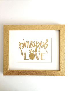 Pineapple are popping up everywhere! Show your pineapple love with this fun print! This X print is hand-lettered on high quality paper. *FREE U. Pineapple Delight, Pineapple Express, Stand Tall, My New Room, Fun Prints, 30, Hand Lettering, Just For You, Diy Crafts