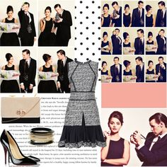 Matt Smith and Jenna Louise Coleman Doctor Who Outfits, Doctor Who Cosplay, Matt Smith, We Wear, Polyvore Fashion, Christian Louboutin, Cute Outfits, Style Inspiration, My Style
