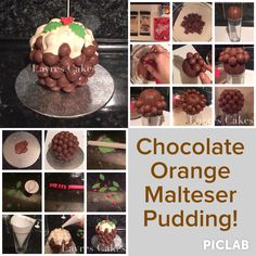 Chocolate orange maltesers pudding! Need to try this!!