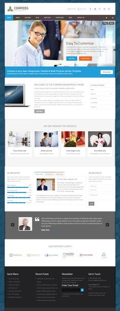 Corposs is Premium full Responsive Retina WordPress Business Theme. Video Background. Bootstrap. Drag & Drop. WooCommerce. Test free demo: http://www.responsivemiracle.com/cms/corposs-premium-responsive-business-wordpress-theme/