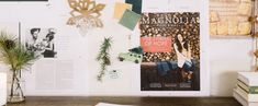 """Keep up to date on the latest news & stories from the host of HGTV's hit remodeling show """"Fixer Upper"""" & owner of the Magnolia Market, Joanna Gaines! Joanna Gaines Blog, Magnolia Joanna Gaines, Magnolia Blog, Magnolia Market, Visual Display, Graphic Design Inspiration, Photo Wall, Holiday, Christmas"""