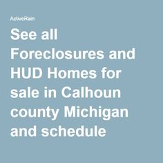 Free list of foreclosures bank owned amp hud homes for sale in michigan
