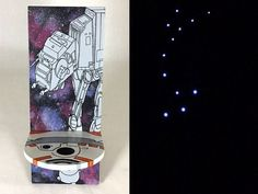 These are the fairy lights you're looking for. Create your own illuminated Star Wars chair with this tutorial!  http://www.lightsforalloccasions.com/p-1646-fairy-moon-lights-led-4-foot-silver-wire-battery-cool-white.aspx